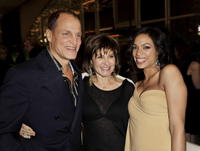 Woody Harrelson, Amy Pascal and Rosario Dawson at the after party of the premiere of