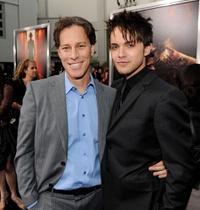 Producer Brad Fuller and Thomas Dekker at the California premiere of