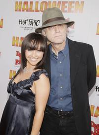 Danielle Harris and Brad Dourif at the premiere of