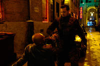 Ray Stevenson as Frank Castle and Colin Salmon as Paul Budiansky in