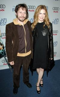 Mathieu Amalric and Marie-Josee Croze at the special screening of