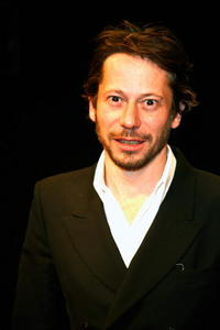 Mathieu Amalric at the Paris premiere of