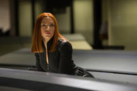Scarlett Johansson as Natasha Romanoff in