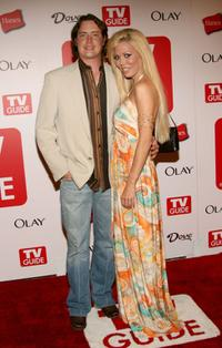 Jeremy London and Melissa Cunningham at the after party of the 4th Annual TV Guide celebrating Emmys 2006.