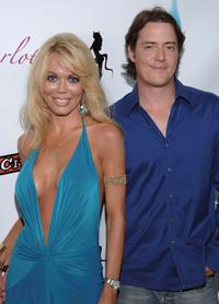 Melissa Cunningham and Jeremy London at the opening night of