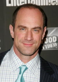 Christopher Meloni at the Entertainment Weekly Academy Awards viewing party.