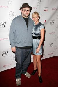 Ethan Suplee and Jaime Pressly at the debut of her Spring/Summer 2008 J'aime Collection.