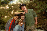 Troy Gentile, David Dorfman, Nate Hartley and Owen Wilson in