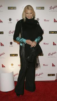 Peta Wilson at the Penfolds Gala Black Tie Dinner, the kick off event for G'Day LA: Australia Week 2005.