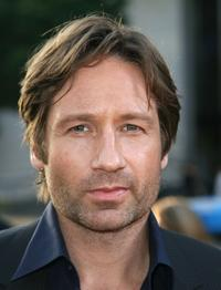 David Duchovny at the Hollywood premiere of