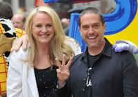 Darla K Anderson and Lee Unkrich at the UK premiere of