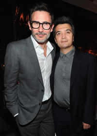 Michel Hazanavicius and Producer Thomas Langmann at the premiere of