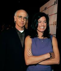 Larry David and Laurie David at the Premiere of