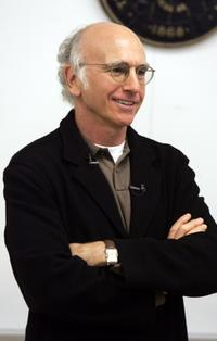 Larry David in the classroom at MtvU Stand In With Larry David.