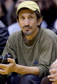 Richard Edson at the game between the Los Angeles Lakers and the Denver Nuggets.