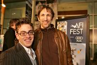 Richard Edson and Eric Gores at the premiere of