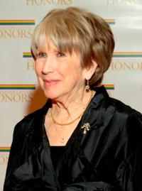 Julie Harris at the gala celebration recipients of the 28th Annual Kennedy Center Honors.