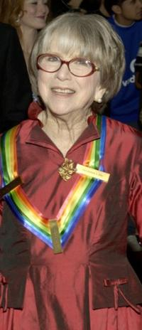 Julie Harris at the 28th Annual Kennedy Center Honors.