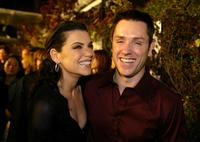 Ron Eldard and Julianna Margulies at the premiere of