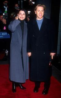 Ron Eldard and Julianna Margulies at the world premiere of