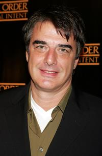 Chris Noth at a party to celebrate the 100th episode of
