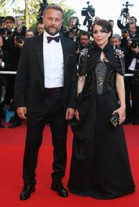 Michael Nyqvist and Noomi Rapace at the premiere of