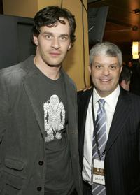 Tom Everett Scott and David Levy at the 2006/2007 TNT And TBS UpFront Reception.