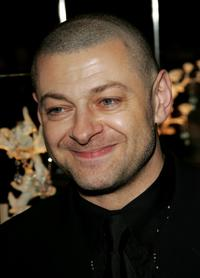 Andy Serkis at the Bafta After Show Party.