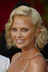 Charlize Theron at the 76th Annual Academy Awards.
