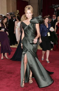 Charlize Theron at the 78th Annual Academy Awards.