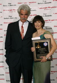 Sam Elliott and Gale Anne Hurd at the 30th Annual Saturn Awards.