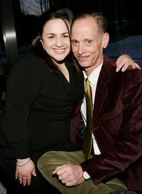 John Waters and Nikki Blonsky at premiere of