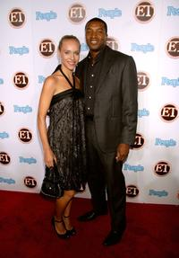 Roger R. Cross and guest at the 11th Annual Entertainment Tonight Party.