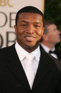 Roger R. Cross at the 64th Annual Golden Globe Awards.