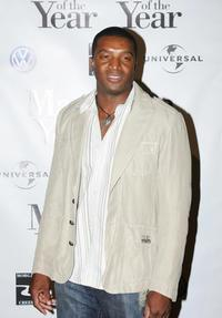 Roger R. Cross at the premiere of