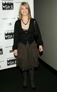 Kathryn Erbe at the 59th annual writers guild of America Awards.