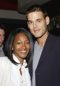 Tanya and Ivan Sergei at the after party of