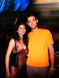 Jill Hennessy and Ivan Sergei at the NBC TCA All - Star party.