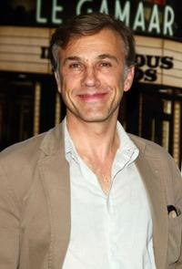 Christoph Waltz at the New York special screening of