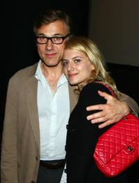 Christoph Waltz and Melanie Laurent at the New York special screening of
