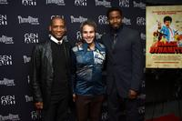 Scott Sanders, Jeff Abramson and Michael Jai White at the New York premiere of
