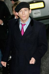 Lee Evans at the south bank show awards.