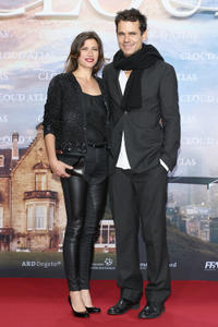 Marie Steinmann and Tom Tykwer at the Germany premiere of
