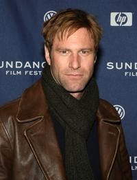 Aaron Eckhart at the 2008 Sundance Film Festival premiere of