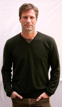 Aaron Eckhart at the promotion of