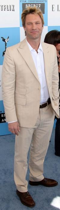 Aaron Eckhart at the 22nd Annual Film Independent Spirit Awards.