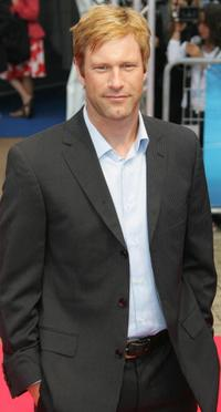 Aaron Eckhart at the screening of