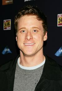 Alan Tudyk at the after party for The 24 Hour Plays benefit.