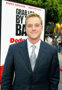 Alan Tudyk at the world premiere of