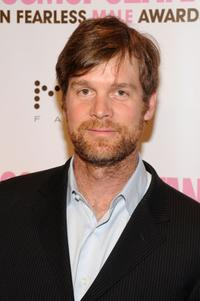 Peter Krause at the Cosmopolitan honors John Mayer as fun fearless male of the year event.